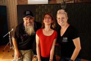 in phoenix sound recording studios melbourne with dog trainers cat saunders and brent dry from the k9 company